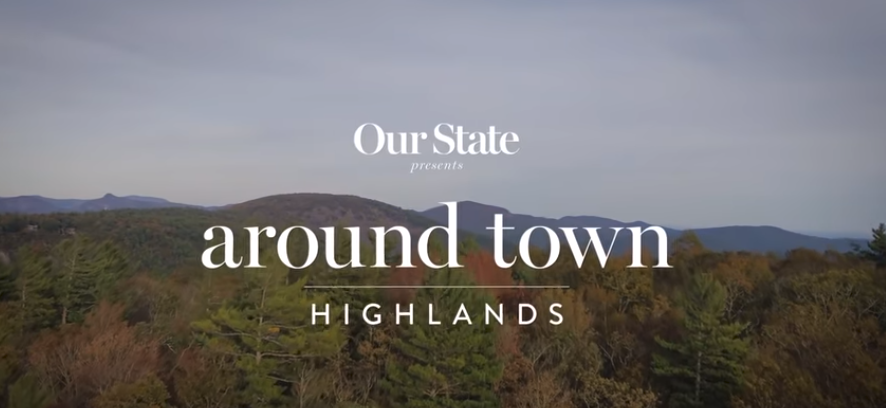 """Chris and Hilary take """"Our State"""" around Highlands"""